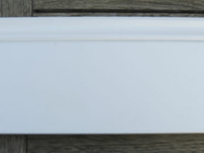 4 x Wickes white skirting boards