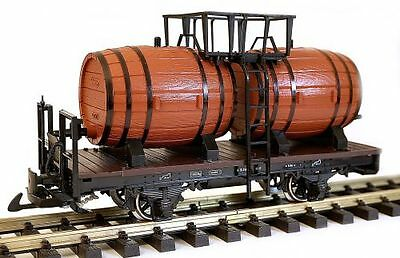 Zenner Wine barrel cart G Scale with LGB Wine barrels