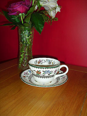 Lovely Vintage Spode Chinese Rose Large Tea Cup & Saucer