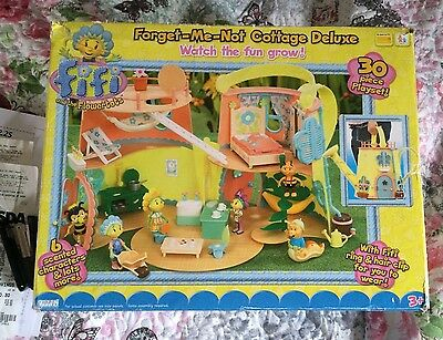 Fiifi And The Flowertots Forget Me Not Cottage Deluxe Play set Boxed