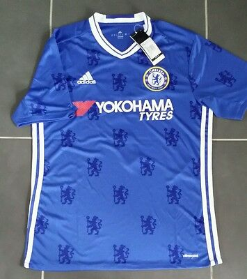 Maillot KANTE N'golo Chelsea Neuf Taille M Adidas 2016 2017