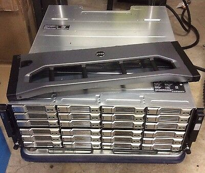 Dell Equallogic PS6100 2x Type 11 Controllers, 24x Caddy, 2x PSU