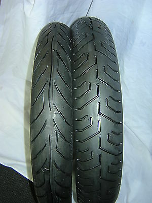 Avon Pair 90/90x18 AM26 Front Soft and 110/80x18 AM22 Soft Rear Race Tyres 2015