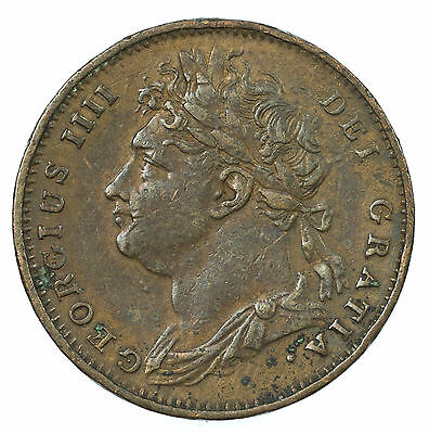 Great Britain, George Iv Farthing, 1825