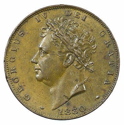 Great Britain, George Iv Farthing, 1830