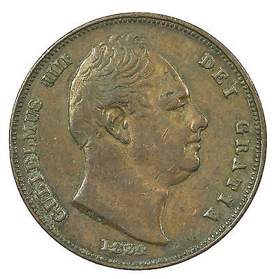 Great Britain, William Iv Farthing, 1834