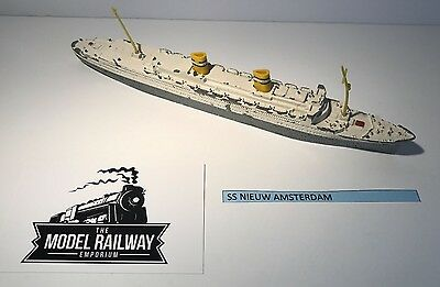 Vintage - Triang Minic Ships - M706 - Ss Nieuw Amsterdam Diecast Unboxed Rarity