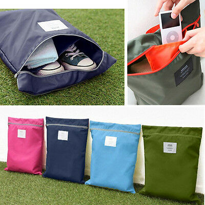 Waterproof Shoe Travel Pouch Storage Portable Zipper Tote Bag