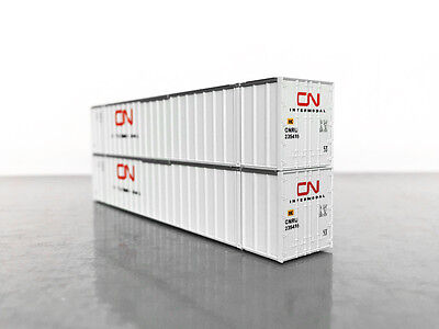 KATO 53' CONTAINER PAIR CN MAXI IV GUNDERSON N Scale