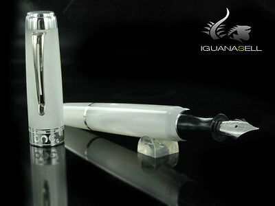 Marlen One Fountain Pen, Resin, White, M14-103-WH , M
