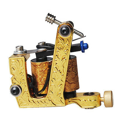 Electroplate stainless steel Tattoo Machine Gun For Shader / Liner  From BNE