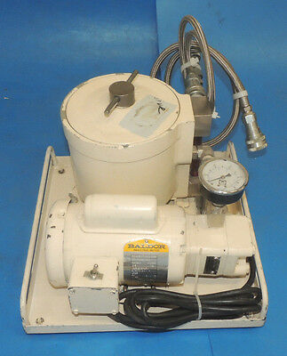 Leybold OF-1000 Oil Filtering System 898561 Filter Hydraulic Pump Baldor Motor