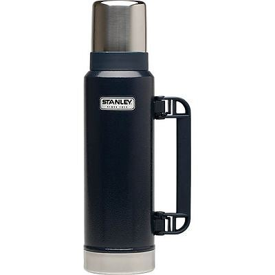 1.3L STANLEY FLASK STAINLESS STEEL VACUUM BOTTLE CLASSIC THERMOS HOT DRINKS Navy