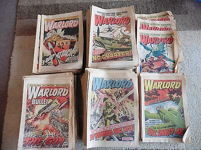 Warlord Comic Collection, Complete Run From #83 April 1976 To #277 Jan 1980