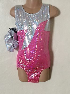 New Leotard Gymnastic Trampoline Dance Size 26 ( 5-6 Years )