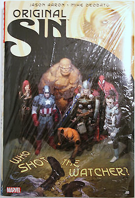 Marvel Comics: Original Sin oversized HC