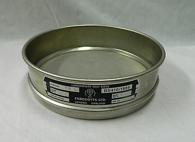 Endecotts Laboratory Test Sieve 250mm +More 300 Micron S/Steel Mesh BS410/1986