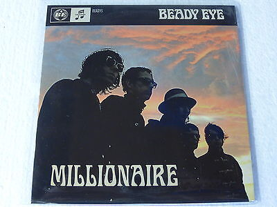 """Beady Eye: Millionaire (Limited UK 2 track 7"""" in Picture sleeve) NEW"""