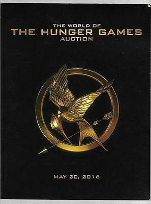 World of The Hunger Games Auction May 20 2016 Lions Gate Artwork Paperback Book