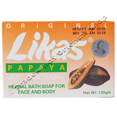 Original Likas Papaya Soap - Herbal Soap - Skin Whitening