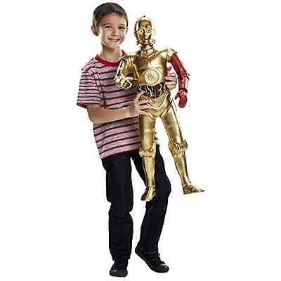 C 3PO Action Figure Star Wars Big Figs Episode VII Massive 31 Inch Character Toy