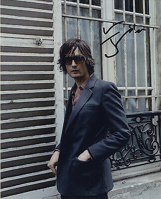 Jarvis Cocker  English Singer & Songwriter ' Pulp ' In Person Signed Photograph.