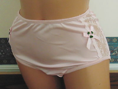 All Nylon Panties with Nylon Gusset Lining Sz:  5 - 12