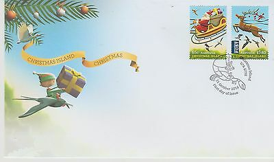 Christmas Island First Day Cover for Christmas 2016 Issued 31/10/2016