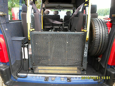 Ricon  wheelchair mobility scooter lift for minibus. 300Kg capacity. tidy one