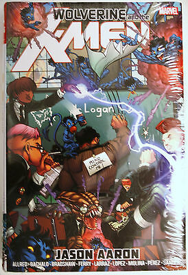 Marvel Comics: Wolverine and the X-Men Omnibus HC by Jason Aaron (SEALED)