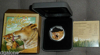 Tuvalu Mother's Love 2014 1/2 Oz Silver Proof Coin