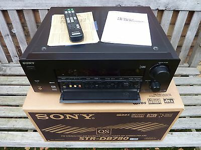 Sony STR-DB780 Black AV Receiver Complete In Original Box (Mint) *FREE UK POST*