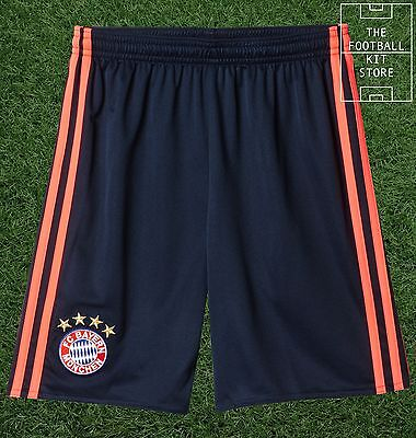 Bayern Munich Third Shorts -  Official adidas Boys Football Shorts - All Sizes