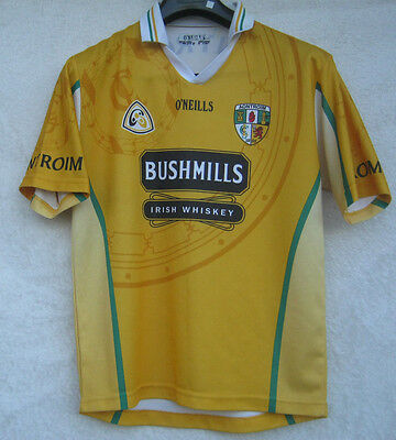 O'NEILLS Antrim GAA Gaelic Hurling Ireland Football Shirt Jersey Youth Size13-14