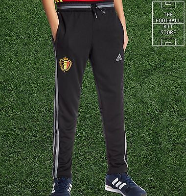 Belgium Training Pants -  Official adidas Boys Football Track Pants - All Sizes