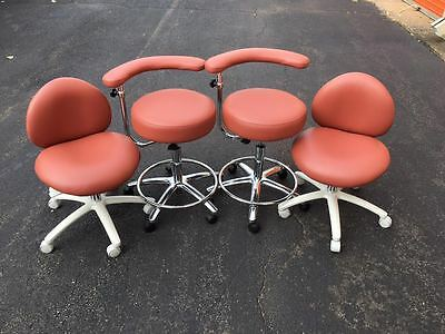 Galaxy 2010 Contoured Dental Doctor's Seat Stool Chair