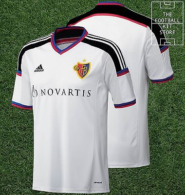 FC Basel Away Shirt -  Official adidas Rare Football Shirt - Mens - All Sizes