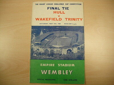 Huul FC v Wakefield Trinity Rugby League Challenge Cup Final 1960
