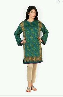 Sana Safinaz original kurti. BNWT winter collection 2016. khaadi gul ahmed