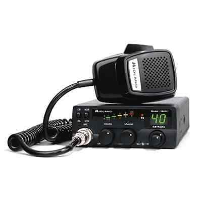 CB 40 Channel Radio Transceiver Portable CB/PA Switch Easily Install Cars Trucks