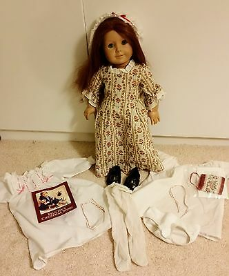 American Girl Vintage Retired Felicity Doll Original Clothing  extra Outfits EUC