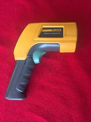 Fluke 572-2 High-Temperature Infrared Thermometer with Dual Laser