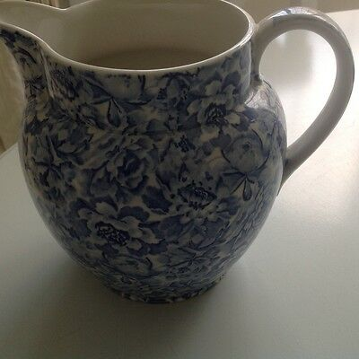 Lovely Floral Laura Ashley  Palace Garden  Jug . Ideal For Flowers Or Liquid