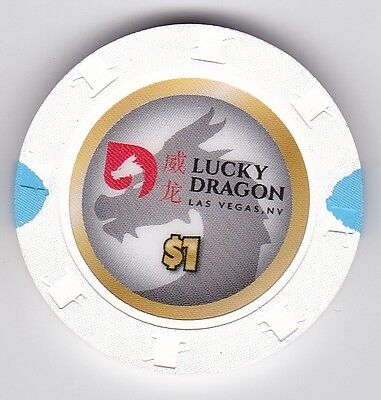NEW RELEASE Lucky Dragon Casino Las Vegas $1 House Chip new uncirculated