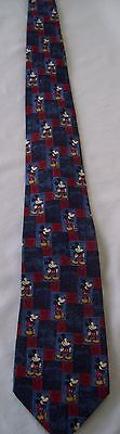 DISNEY STORE MICKEY MOUSE Colorful Mens Silk Neck Tie