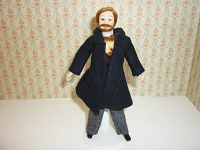 Streets Ahead Dolls House Victorian Father Figure 12Th Scale New