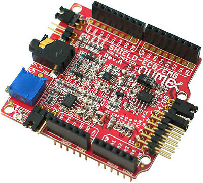Olimex SHIELD-EKG-EMG arduino ecg shield
