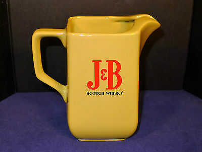 J&B Scotch Whisky Water Bar Pitcher By Wade of England