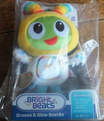 Fisher Price Bright Beats Groove And Glow Beatbo Beat Bo Cuddly Plush Toy
