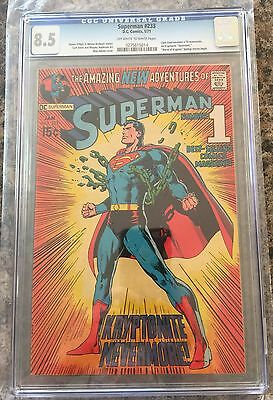 SUPERMAN #233 CGC 8.5 CANADA SELLER Neal Adams cover